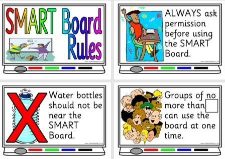 Free Printable Smart Board Rules Posters