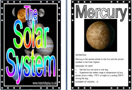 planet mercury projects - photo #12