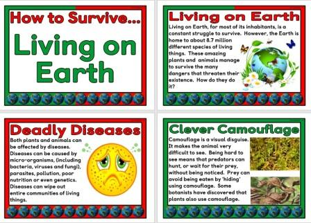 Science topic, How to Survive Living on Earth
