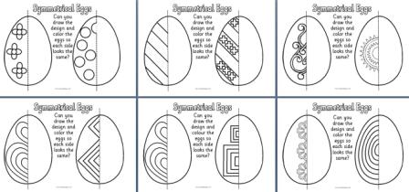 Ks1 And Ks2 Teaching Resources Easter Resources Symmetry