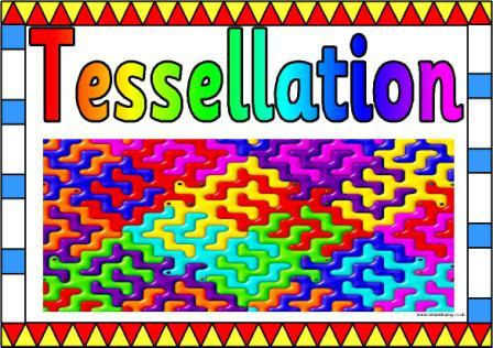 Printable Tessellation Posters Classroom Display