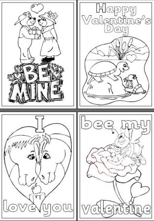 Valentines Day Teaching Resources, page borders, colouring pages ...