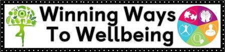Winning Ways to Wellbeing free printable poster for classroom display.