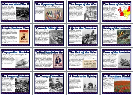 photograph relating to Printable Classroom Posters identified as KS2/KS3 Historical past Instruction Instrument - World-wide War I printable